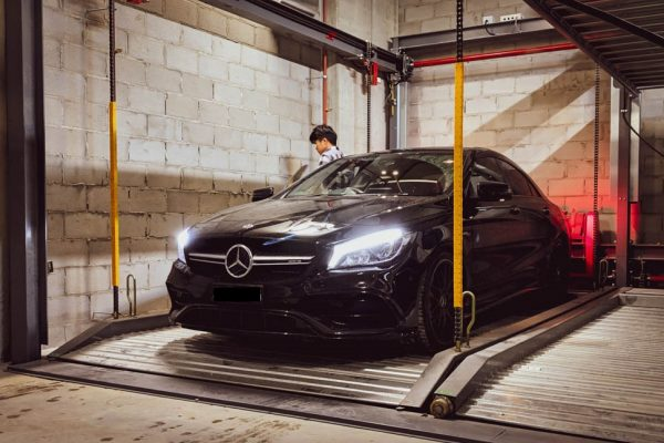 Mercedes Car Stacker
