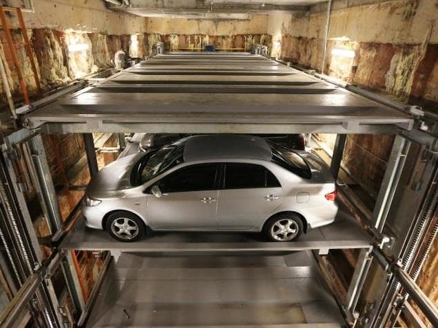 Underground Parking Woolloomooloo