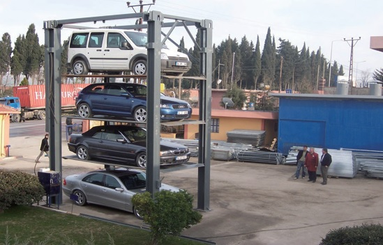 Four Car Parking Stacker